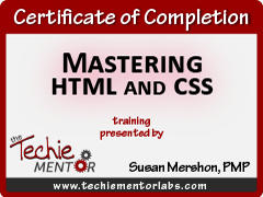 mastering-html-and-css-certificate-techie-mentor