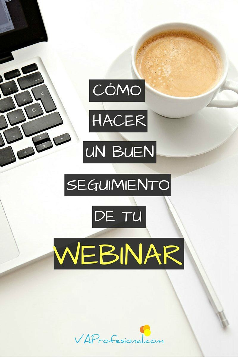 Los emails de seguimiento o follow up de un webinar