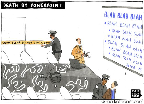Death By PowerPoint by Tom Fishburne